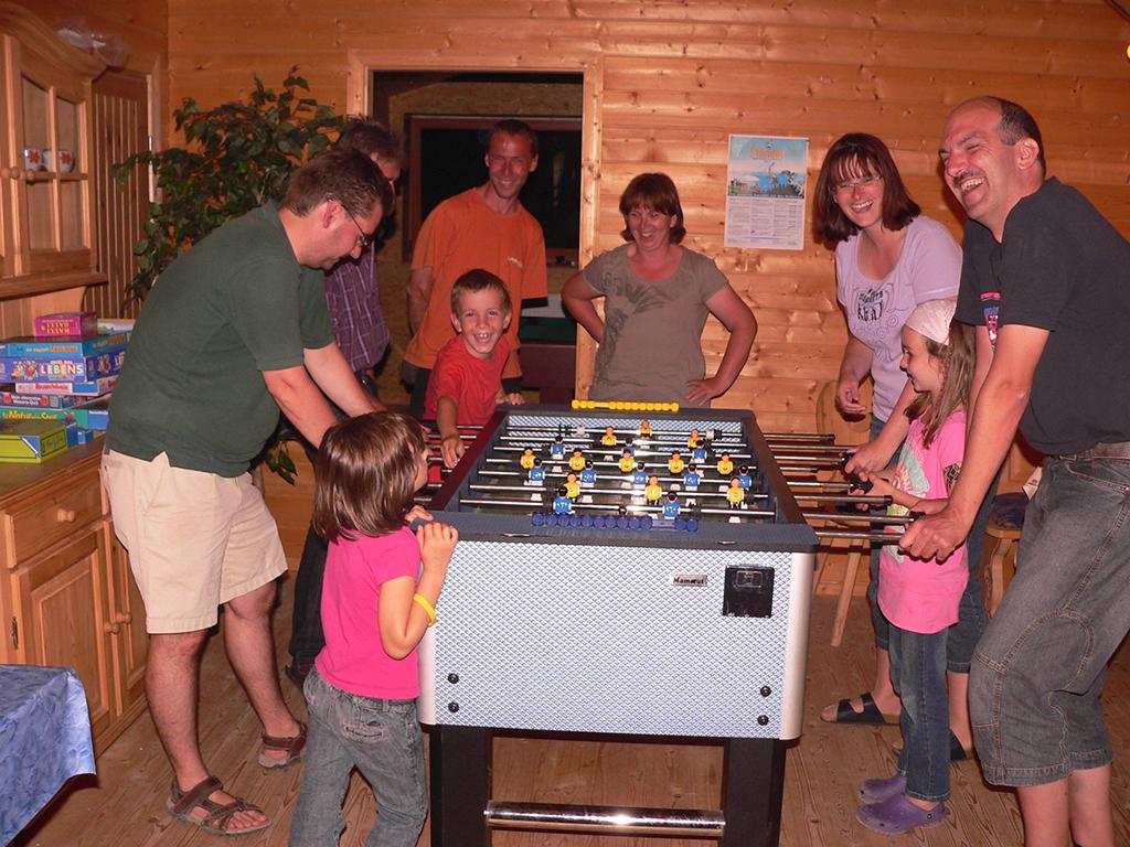 Tischfussball- ein Spaß für alle