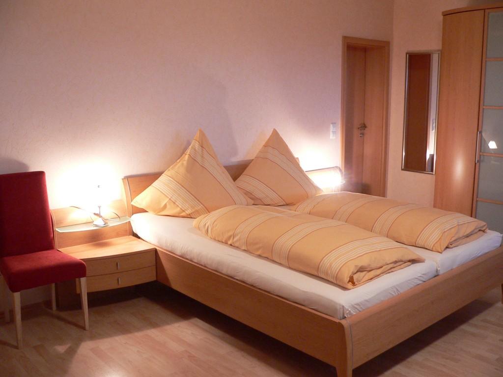 Schlafbereich der Ferienwohnung Typ II